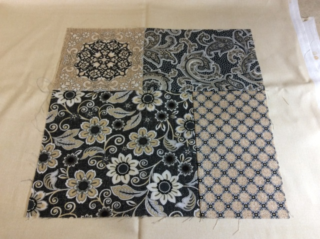 Block for Twist & Turn Four-Patch Quilt