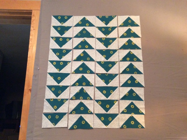 Midnight Mystery Quilt-a-long Flying Geese