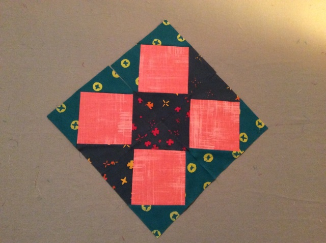 Midnight Mystery Square-in-a-Square Blocks