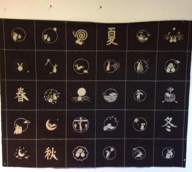 Four Season Usagi Rabbit Panel