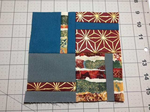 Tula Pink Modern Quilt Block #16