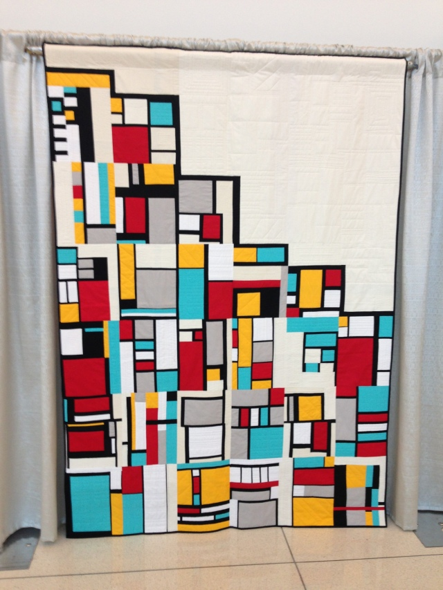 Beautiful Unlabeled Quilt by unknown person or quilt guild