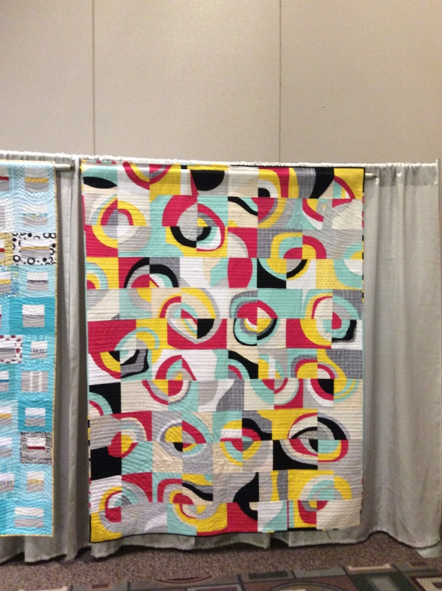 Untitled Quilt completed for the QuiltCon Charity Quilt Challenge