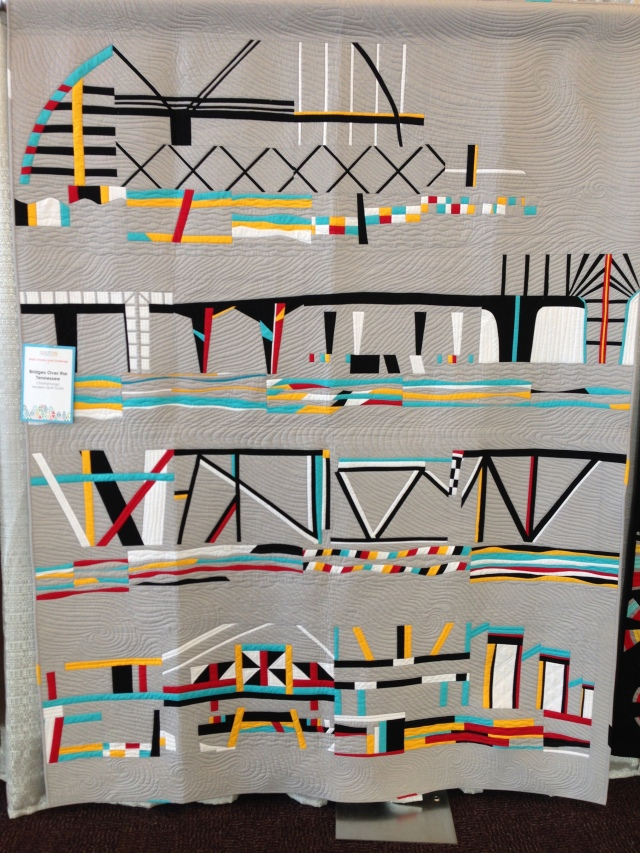 Bridges over Tennessee by the Chattanooga Modern Quilt Guild