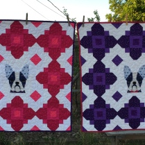 French Bulldog Quilt