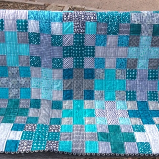 Charming Plus Baby Quilt